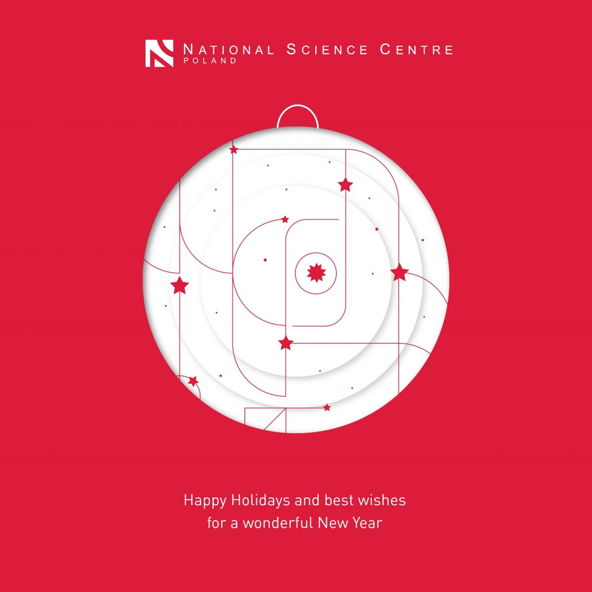 National Science Centre wish You Happy Holidays and best wishes for a wonderful New Year