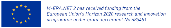 M-ERA.NET 2 has received funding from the European Union's Horizon 2020 research and innovation programme under grant agreement No 685451.