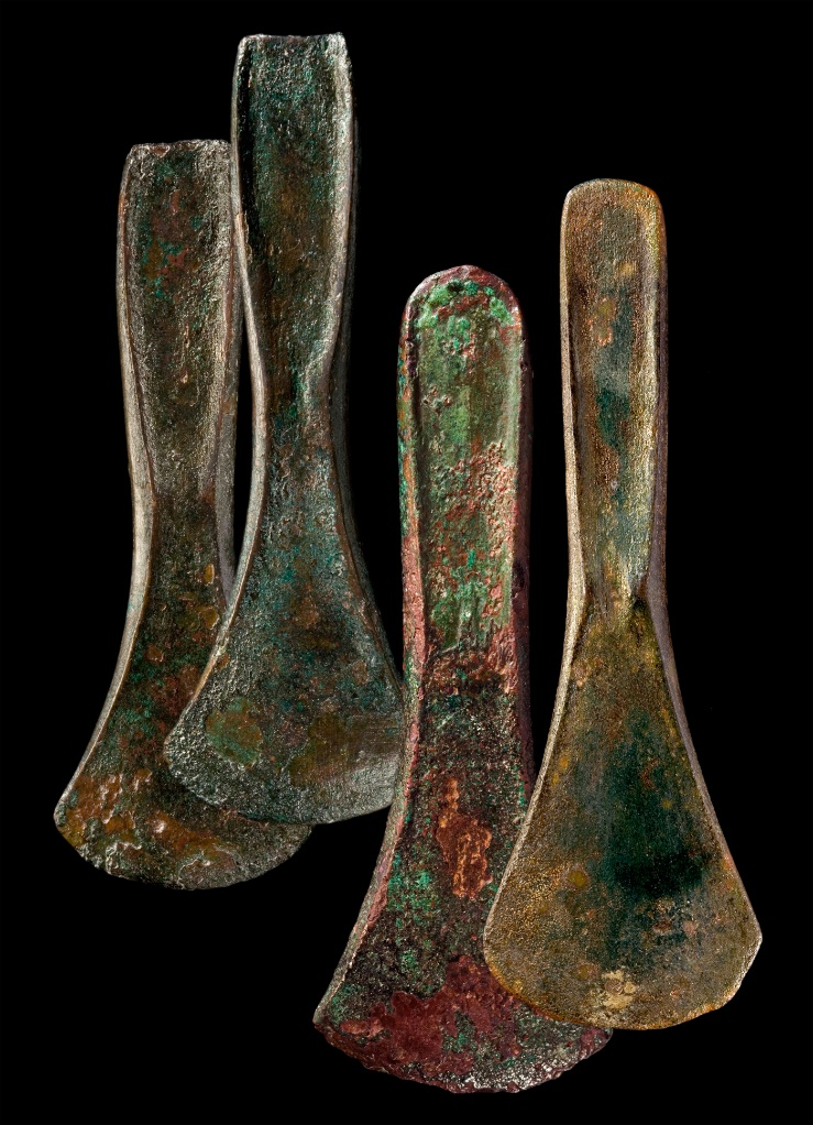Bronze axes from the Bruszczewo fortified settlement